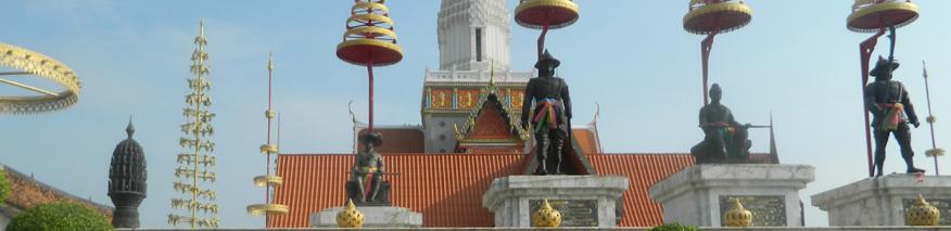 Kings' Memorial at Wat Phattaisawan