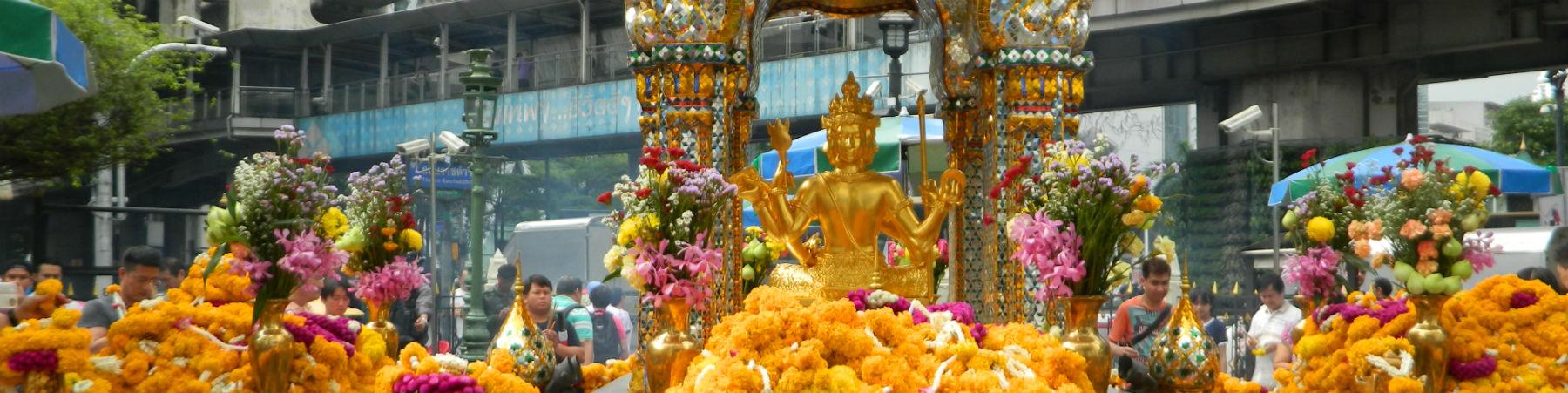 Erawan Shrine, Pathum Wan, Bangkok