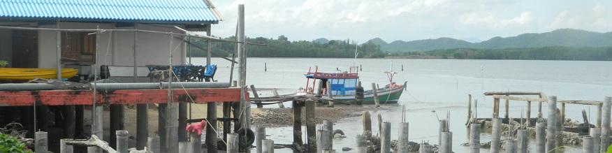 Fisherman's Village, Ao Krung Kraben, Chanthaburi