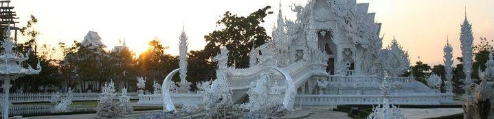 White Temple near Chiang Rai