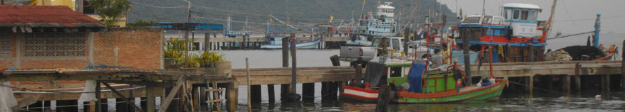Bang Saray fishing port